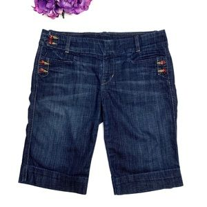 CITIZENS OF HUMANITY Cadet Dark Wash Shorts 29